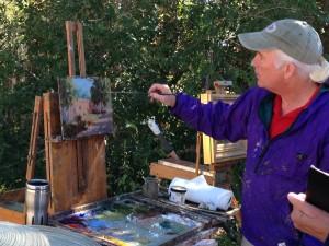 Roger Williams painting workshop