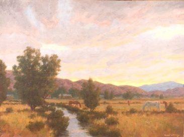 Evening Calm<br />36 x 48 oil